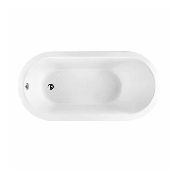 Natural 1.5M Cast Iron Drop-in Tub