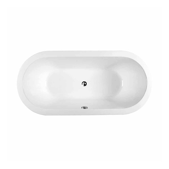 Natural 1.7M Cast Iron Drop-in Tub