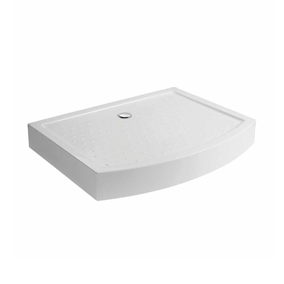 Active Acylic Shower Tray ( Bow Fronted)