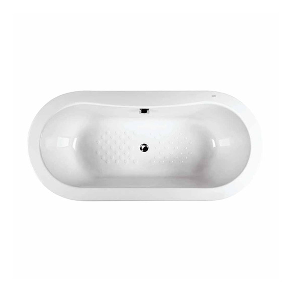 Acacia 1.7M Acrylic Drop-in Tub (Center Waste)